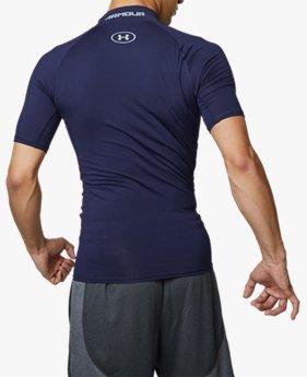 UAヒートギアアーマー モック ショートスリーブ(トレーニング/MEN)