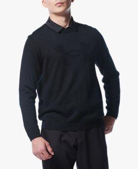 UAライトウエイト ロゴ セーター(ゴルフ/MEN)