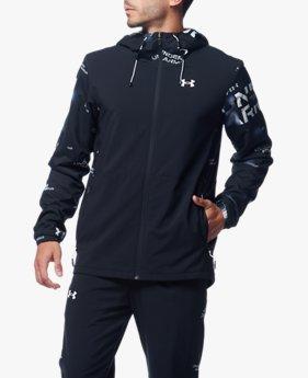UAトリコット ライン ウーブン ジャケット(トレーニング/MEN)