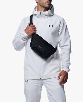 UAブラッシュ ウーブン ジャケット(トレーニング/MEN)