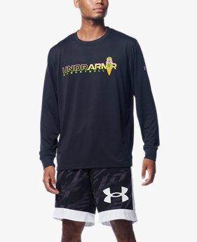 UAテック ヒーティング アップ ロングスリーブ Tシャツ(バスケットボール/MEN)