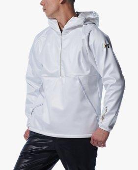 UAアンディナイアブル ハーフジップ 3レイヤー ジャケット(ベースボール/MEN)