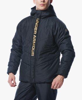 UAインサレート ウーブン フルジップ ジャケット(ベースボール/MEN)