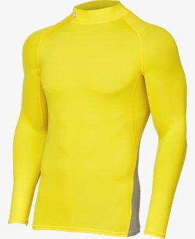 UAヒートギアアーマー ロングスリーブ モック(サッカー/MEN)