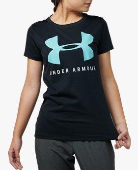 UAテック ビッグロゴ グラフィック Tシャツ(トレーニング/WOMEN)