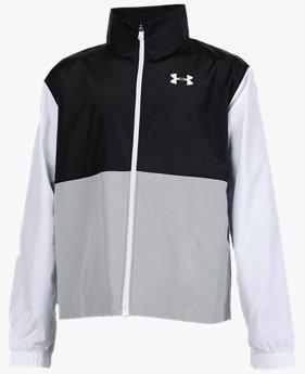 UAメッシュ ライン フルジップ ジャケット(トレーニング/BOYS)