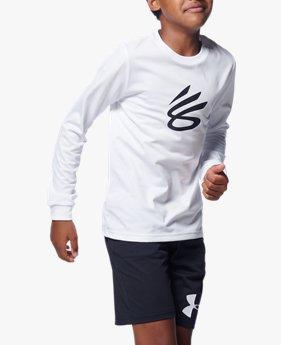UAユース テック ロングスリーブ SC30 Tシャツ 2(バスケットボール/BOYS)