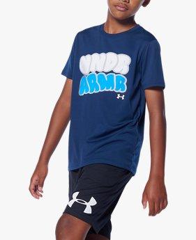 UAユース テック ショートスリーブ Tシャツ(バスケットボール/BOYS)