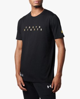 UAジャイアンツ テキスト Tシャツ(ベースボール/MEN)
