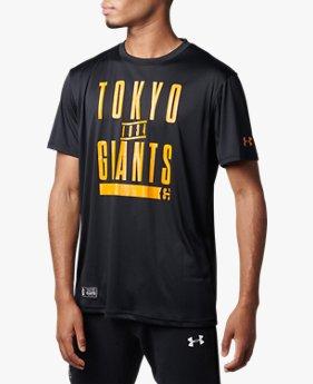UAジャイアンツ フロント ビッグテキスト Tシャツ(ベースボール/MEN)