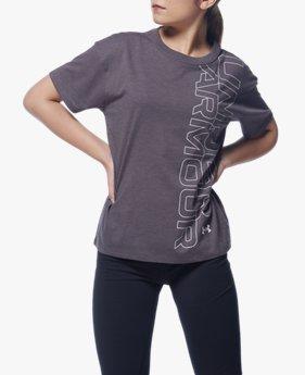 UAガールフレンド グラフィック Tシャツ(トレーニング/WOMEN)