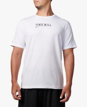 UAグラフィックショートスリーブ<WE WILL>(ライフスタイル/Tシャツ/MEN)