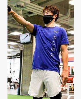 UAヒートギア ラッシュ2.0 ショートスリーブ ノベルティ(トレーニング/MEN)