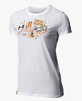 UAジャイアンツ グラフィック Tシャツ(ベースボール/WOMEN)