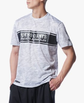 UA読売ジャイアンツ カモ Tシャツ(ベースボール/MEN)