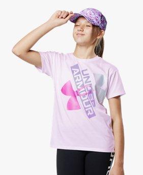 UAテック グラフィック ロゴ ショートスリーブ(トレーニング/GIRLS)