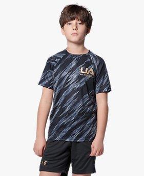 UAユース テック ショートスリーブ ベースボール ノベルティ シャツ(ベースボール/BOYS)