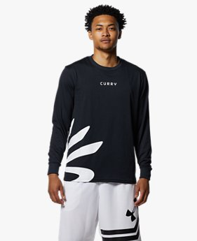 カリー テック ロングスリーブ Tシャツ スプラッシュ(バスケットボール/MEN)