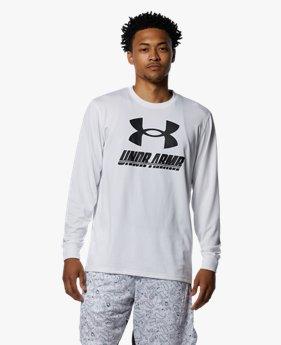 UAテック ロングスリーブ Tシャツ ビッグロゴ(バスケットボール/MEN)