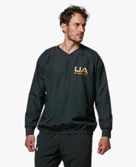 UA Vネック ジャケット(ベースボール/MEN)