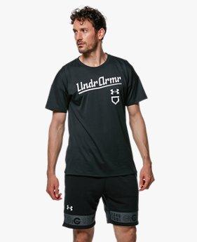 UAテック ショートスリーブ シャツ ワード テキスト(ベースボール/MEN)