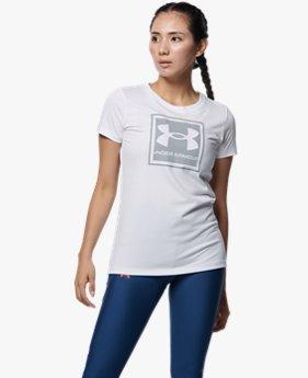 UAテック グラフィック Tシャツ(トレーニング/WOMEN)