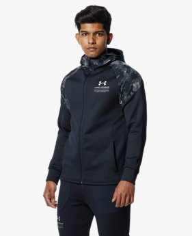 UAニットジャケット プリント(トレーニング/MEN)