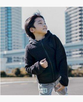 UAシェルパ フルジップ(トレーニング/KIDS)