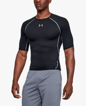 Camiseta de Compressão Masculina de Treino Under Armour HeatGear® Armour
