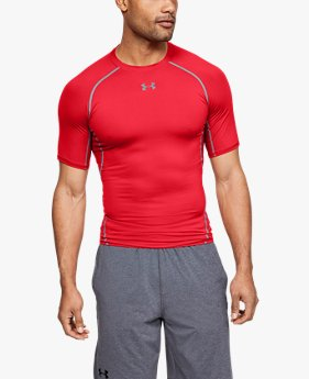 7721b7a16bc Men's UA HeatGear® Armour Short Sleeve Compression Shirt
