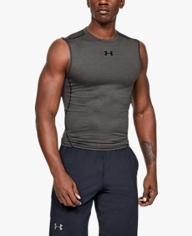 Mouwloos herenshirt UA HeatGear® Armour Compression