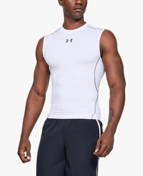 T-shirt Compression HeatGear® Armour sans manches pour homme