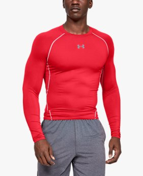 Men's UA HeatGear® Armour Long Sleeve Compression Shirt