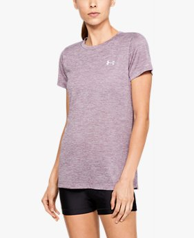 Camiseta UA Tech™ Twist Feminina