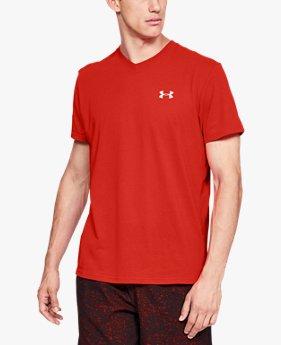 Men's Streaker Run V-Neck T-Shirt