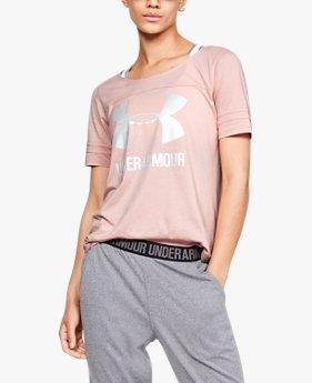 T-shirt UA Graphic Baseball T da donna