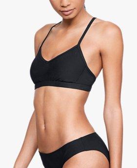 Top bajo para nadar UA Microthread para Mujer