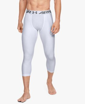 Herren Kompressions-Leggings UA HeatGear® Armour ¾ lang