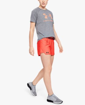 Short UA Play Up 2.0 pour femme