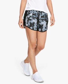 Shorts de Corrida Feminino Under Armour Fly-by Printed