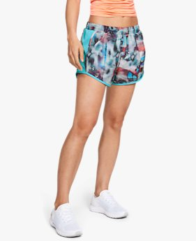 Women's UA Fly-By Printed Shorts
