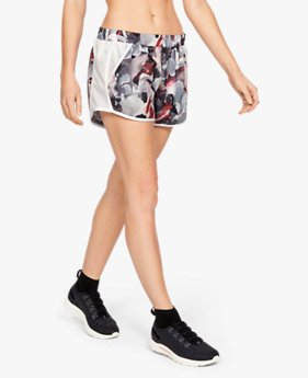 Shorts UA Fly-By Printed Feminino