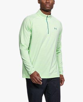 남성 UA 플레이오프 ¼ 집 긴팔 티셔츠