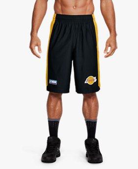 Shorts NBA Combine UA Isolation Masculino