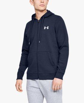 Men's UA Rival Fleece Fitted Full Zip Hoodie