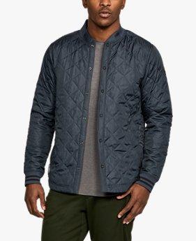 【アウトレット】UAスポーツスタイルシャツジャケット(トレーニング/MEN)