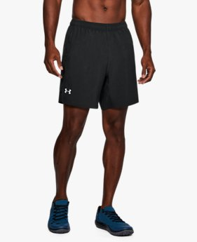 Men's UA Speed Stride 18 cm Woven Shorts