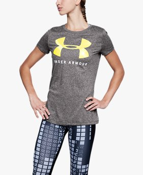 Camiseta UA Tech™ Graphic Feminina