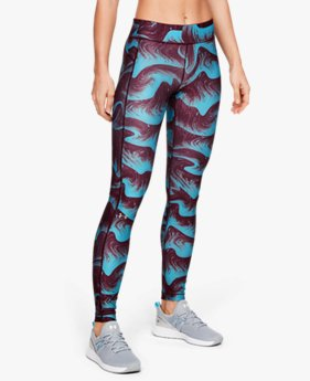 Leggings estampados HeatGear® Armour para Mujer