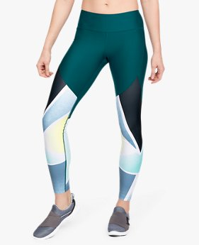 Calça Legging UA Vanish Glass Lens Feminina